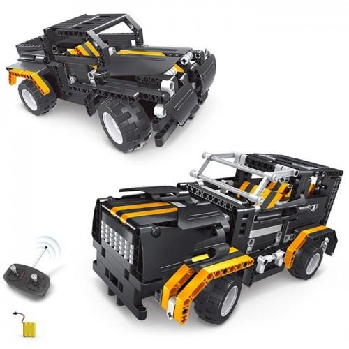 Creative 2 in 1 Electric DIY Assembled Building Blocks Car with Remote Control for Kids